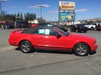 2005 Ford Mustang V6 Red Light Graphite. Exterior Sport