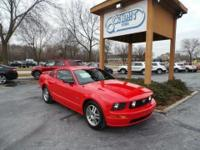 Mustang GT Deluxe, 4.6L V8 24V, and 5-Speed Manual with