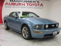 SPORTY 2005 Ford Horse GT Deluxe CONVERTIBLE in blue!