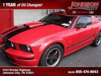 2005 Ford Mustang GT Premium, Red, Free oil changes for