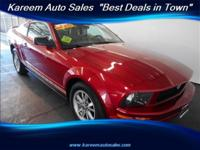 Free 30 Days /3,000 Limited Warranty !, Mustang V6
