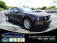 Options:  2005 Ford Mustang Gt Deluxe 2Dr
