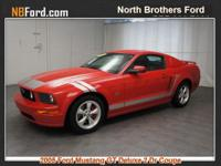Options:  2005 Ford Mustang |Miles: 77050Color: Redfire