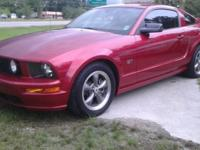 Very Clean Red Mustang GT!!! Only 83K miles!!! 5sp