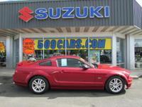 This 2005 Ford Mustang has a V8, 4.6L; SOHC 24V high