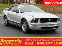 Recent Arrival! This 2005 Ford Mustang V6 in Satin