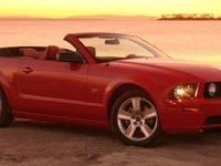 Grand and graceful, this 2005 Ford Mustang banished all