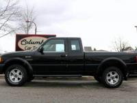 VERY NICE FORD RANGER SUPERCAB 4 WHEEL DRIVE EDGE WITH