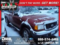 Recent Arrival! 2005 Ford Ranger XLT CARFAX One-Owner.