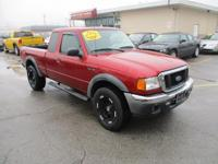 Options:  2005 Ford Ranger 4Wd Supercab Xlt