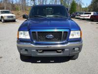 Options:  2005 Ford Ranger Super Cab Xlt Fx4 Level Ii