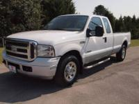 2005 Ford Super Duty F-250 Pickup Truck SD Supercab 158