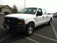 From work to weekends, this White 2005 Ford Super Duty
