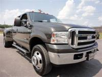 THIS 2005 FORD F-350 LARIAT JUST CAME IN. THIS 6.0L