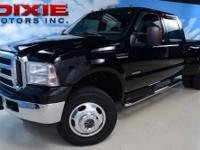 2005 Ford F350 4x4 Dually, Crew Cab, short bed Shown by