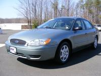 Options Included: Ford Taurus SE Edion 4 Door Deluxe