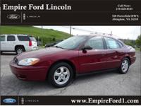Options:  2005 Ford Taurus Se|Se 4Dr Sedan|3.0L|6