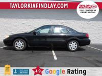 Accident Free AutoCheck History Report, Taurus SE,