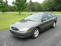 2005 Taurus SE Wagon w/third row seating. This super