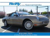 2005 Ford Thunderbird Deluxe Convertible ,This one is