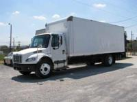 2005 Freightliner M 2 with a 24' van body. Mileage is