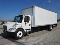 2005 Freightliner M2 26? x 102? FRP Box Truck for Sale,