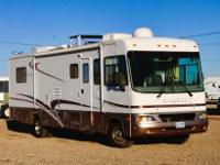 2005 GEORGETOWN SE, CLASS A 34 FEET, FORD V10 ENGINE,