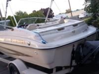 Great boat with all the options for fishing, skiing or