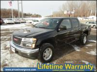 2005 Gmc Canyon Flame Yellow I5 3.5L Gas 4RD EPA 23 MPG