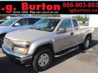 Recent Arrival! 2005 GMC Canyon SLE Clean CARFAX. 3.5L