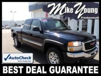 Exterior Color: deep blue metallic, Body: Extended Cab