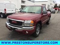 Options:  2005 Gmc Sierra 1500 Sle|Red|*Sportside!!!*