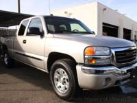 This 2005 GMC Sierra 1500 Extended Cab SLT Pickup 4D 6