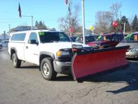 ONE OWNER>>>Need a plow truck for the winter?! Stop