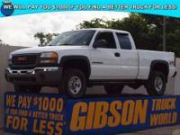 WWW.GIBSONTRUCKWORLD.COM 2005 GMC Sierra 2500 Quad Cab
