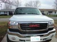 2005 GMC Sierra 2500HD Crew Cab. This is a great work