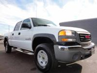 This 2005 GMC Sierra 2500 just came in it is equipped