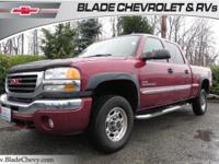 4WD/4x4, Duramax, Heated Leather Seats, **CARFAX ONE