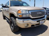 Options:  2005 Gmc Sierra 2500Hd|Beige|Clean