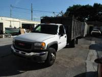 2005 GMC Sierra 3500 Landscape/Dump Truck with 12' Bed