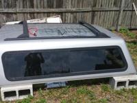 2005 gmc sierra ext cab topper fits a 6 foot bed comes