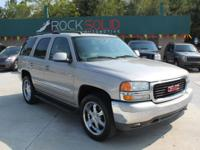Options Included: N/AThis 2005 GMC Yukon SLT 4D Utility