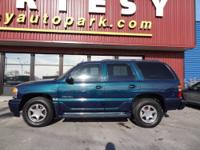 Take a look at this 2005 GMC Yukon Denali. We're