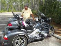 We are offering our 2005 Honda Goldwing trike with CSC
