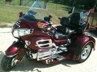 05 Goldwing Trike , with a motortrike kit, New battery