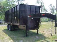 2005 36 Yard Dump Trailer. 20K Pound Dual Tandems.