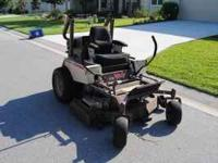 2005 GRASSHOPPER 52INCH GAS 29HP KUBOTA ENGINE 1,000