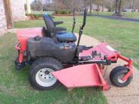 2005 Gravley 260Z zero turn lawnmower. 25 HP Kawasaki