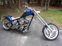 FOR SALE 2005 custom chopper motorcycle asking $11,500