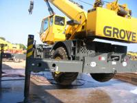 2005 Grove RT875E 2005 GV RT875E 75 Ton Rough Terrain